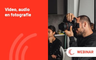 Video, audio & fotografie